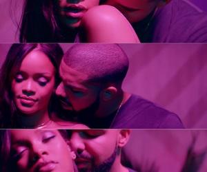 Drake, rihanna, and video image