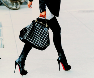 fashion, bag, and shoes image