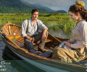 first date, boat ride, and hearties image