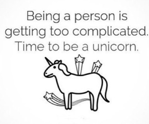quotes and unicorn image