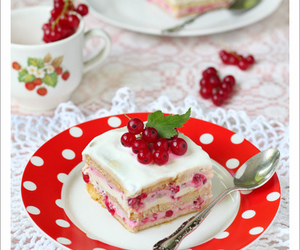 berries, bread, and cake image