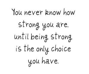 be strong, strong, and text image