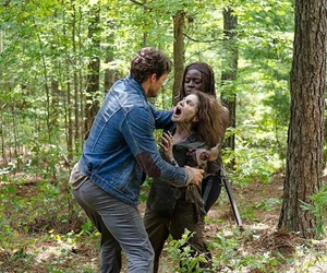 michonne, deanna, and Walker image