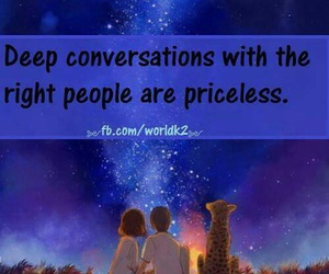 conversation, priceless, and love image