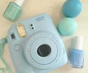 blue, eos, and essie image