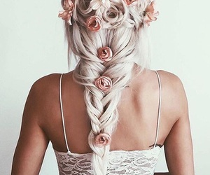 blonde, life goals, and braid image