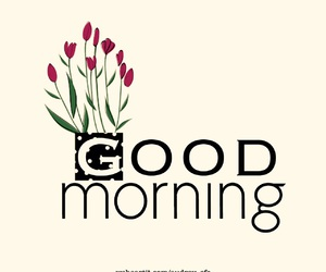 day, morning, and flowers image