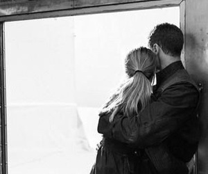 divergent, couple, and love image