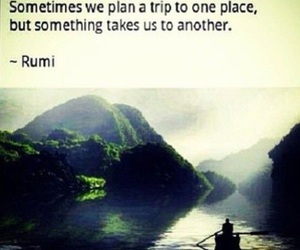 Rumi and travel image