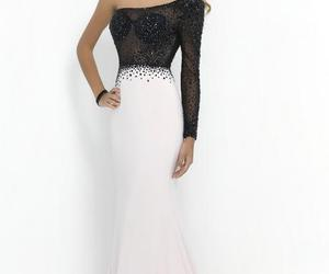 beauty, long prom dresses, and fashion image