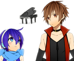 kaito, vocaloid, and meito image
