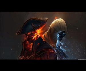 fan art, assassins creed 3, and connor kenway image