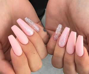 girly, glitter, and makeup image