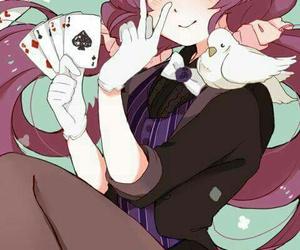 anime, nozomi tojo, and cards image