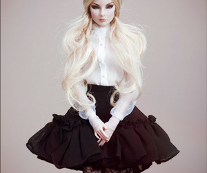 doll, fashion, and fr image