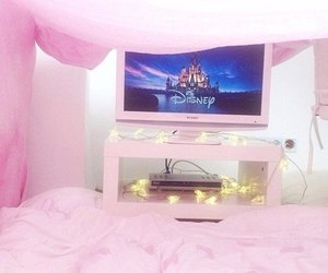 pink, disney, and girly image