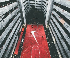 nike, Basketball, and red image