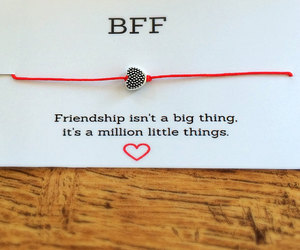 bff, charm bracelet, and d image
