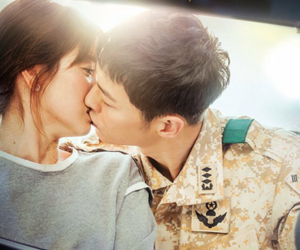 kdrama, song hye kyo, and song joong ki image