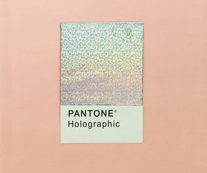 holographic, pantone, and pink image