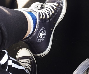casual, converse, and shoes image
