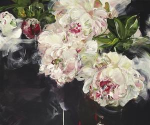 art, flowers, and beautiful image
