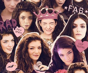 lorde, Collage, and music image