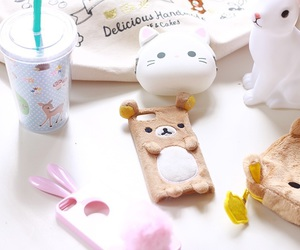 kawaii, rilakkuma, and phone case image