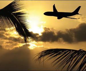hawaii and sunset image