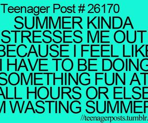 summer, funny, and true image