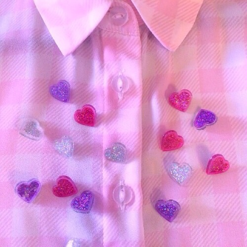 pink, purple, and heart image