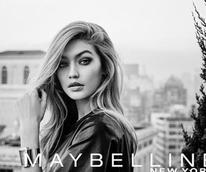 gigi hadid, Maybelline, and model image