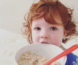 baby, ginger, and cute image