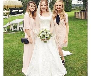 wedding, tanya burr, and zoe sugg image