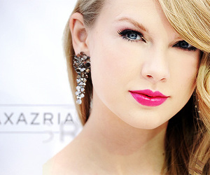 hair, lips, and Taylor Swift image