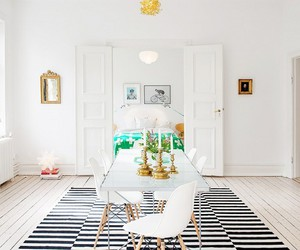 home, interior, and bohemian image