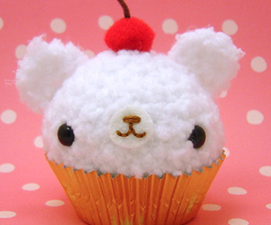 bear, cupcake, and delicious image