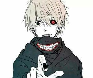 tokyo ghoul, kaneki, and best anime boy caracter image