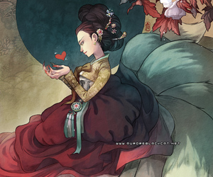 girl and gumiho image