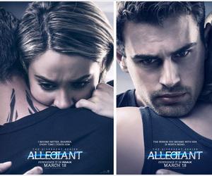 allegiant, divergent, and four image