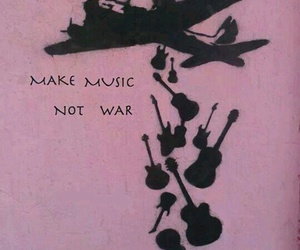 music, war, and peace image