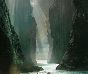 LOTR, river, and travel image