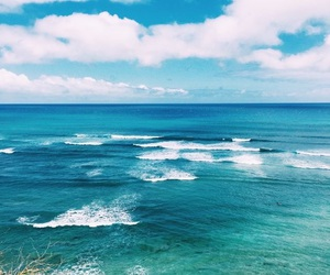 ocean, waves, and beach image