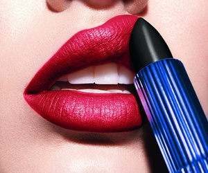 beauty, estee lauder, and lipstic image
