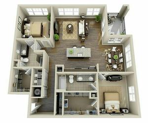 casa, interior, and planos image