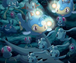 pokemon, mudkip, and lanturn image