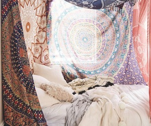 room, bedroom, and colors image
