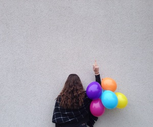 balloons, colour, and tumblt image