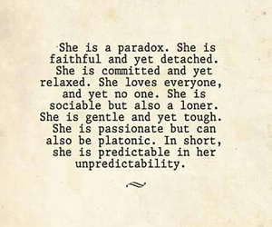 quotes, loner, and Paradox image
