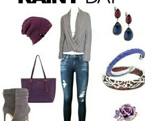 blue, chic, and day image